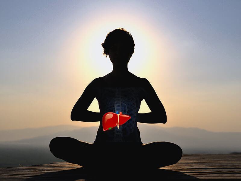 Three yoga postures for a healthy liver - lifealth