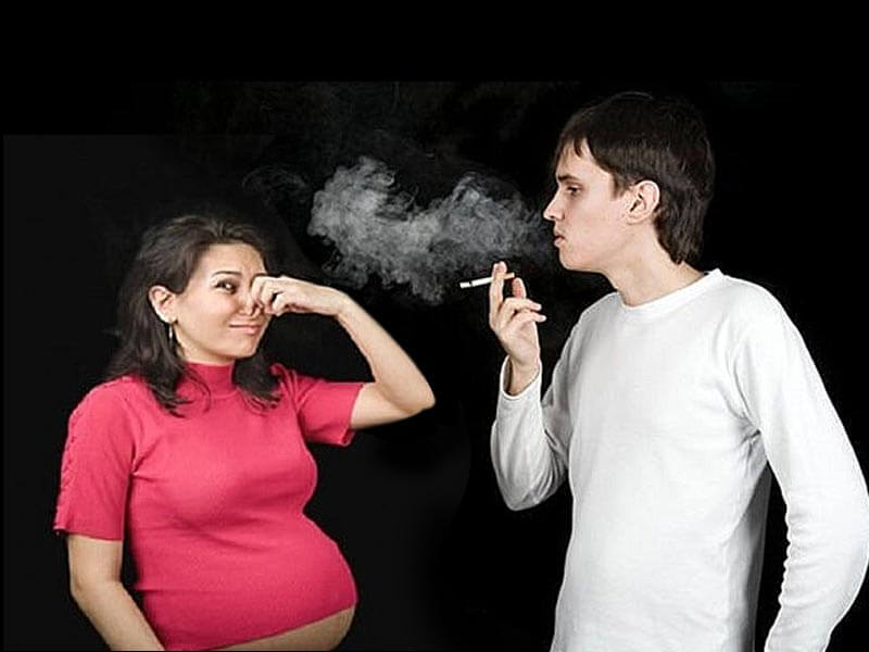 dangerous effects of passive smoking during pregnancy