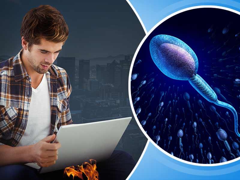 Heat kills sperm